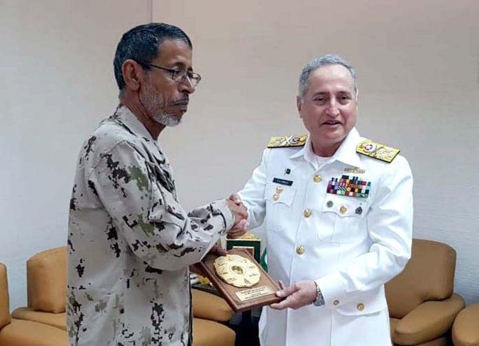 1 3 - CNS Admiral Zafar Mahmood visits UAE Naval Headquarters