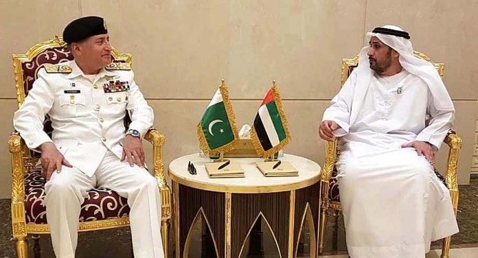 2 1 - CNS Admiral Zafar Mahmood visits UAE Naval Headquarters