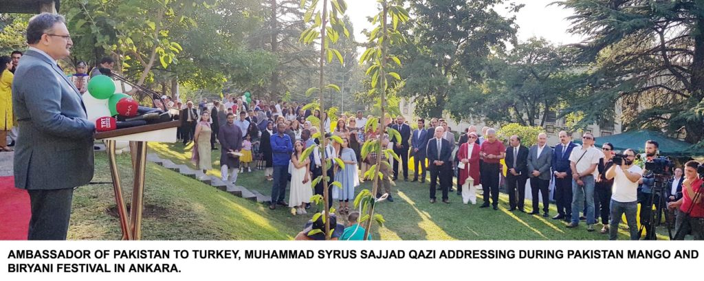 23911 1024x409 - Turkish Embassy Pakistan organized Mango & Biryani Festival in Ankara
