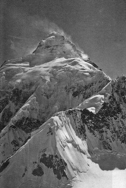 404px K2 East Face 1909 - K2 world's second highest & deadliest peak in Pakistan