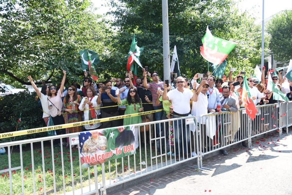 67119817 3669554579753602 7422713045320728576 n - Imran Khan receives warm welcome at Washington D.C