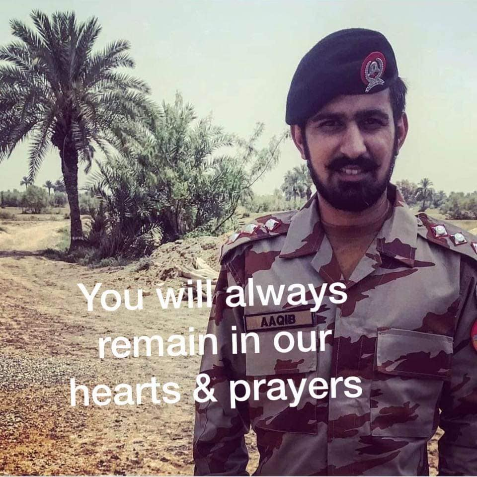 67535561 10162153751285626 1905079628003803136 n - Pakistan Army's Capt. Aqib along with 3 soldiers embraced martyrdom