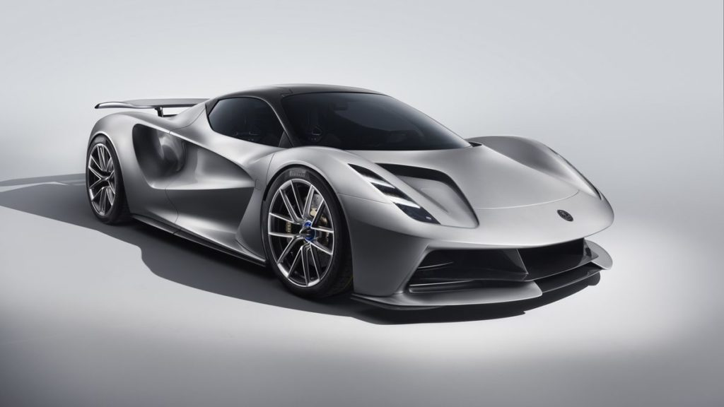 Lotus Evija Front Three Quarter.0 1 1024x576 - Lotus Evija Electric Hypercar Fully Charges In Just Nine Minutes