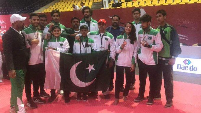 Pakistans taekwondo athletes won Silver Bronze medals in Jordan - Pakistan's taekwondo athletes won Silver & Bronze medals in Jordan