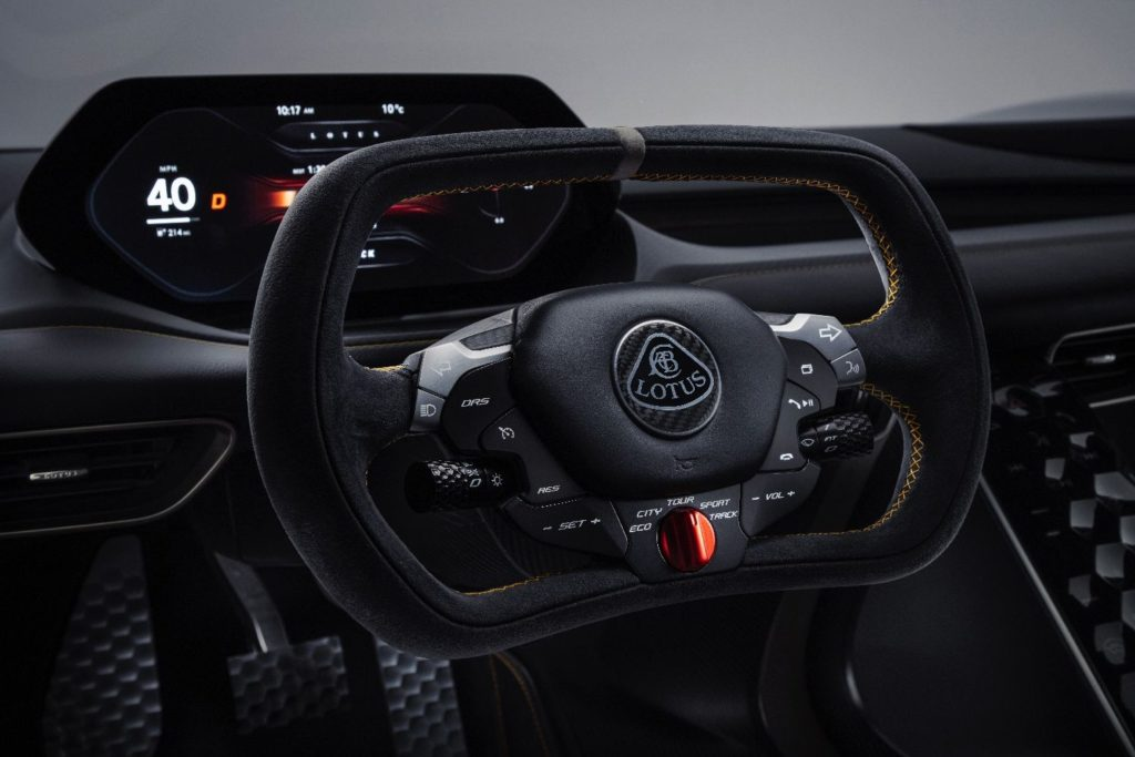 dims 2 1 1024x683 - Lotus Evija Electric Hypercar Fully Charges In Just Nine Minutes