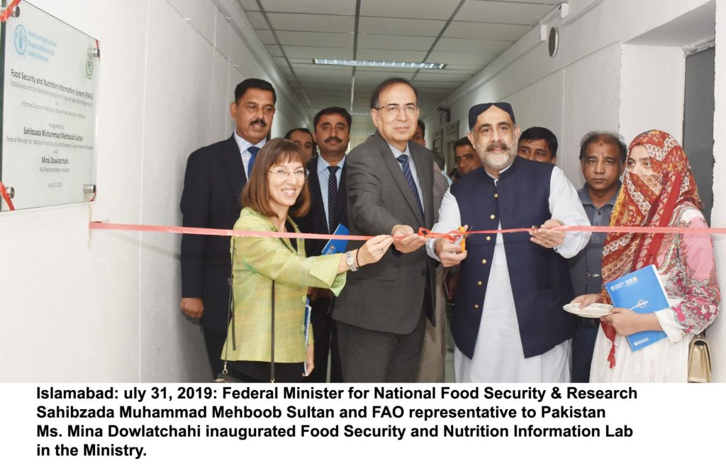 23990 1024x660 - Pakistan establishes Food Security and Nutrition Information System Lab