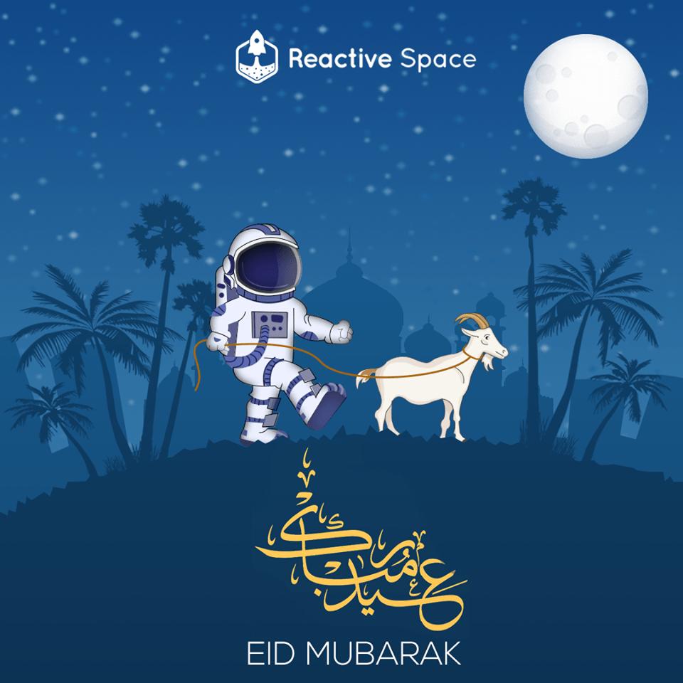 reactive space - Creative Eid-Al-Adha 2019 Wishes