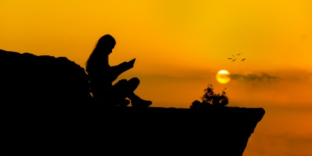 reading sunset - Play Your Part | Make This World A Better Place