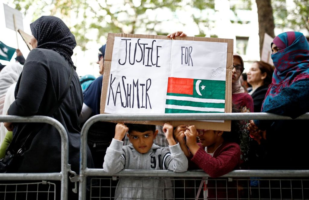 uk 5 1024x662 - Protests around the globe for Occupied Kashmir against India's decision