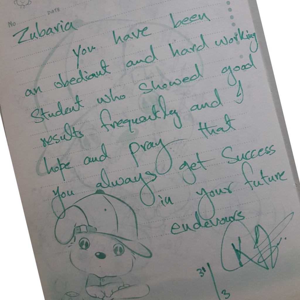 Autograh Book ZubariaFakhar DailyLifePakistan 0003 Layer 16 1024x1024 - Words Of Wisdom & Well Wishes | Old Autograph Diary