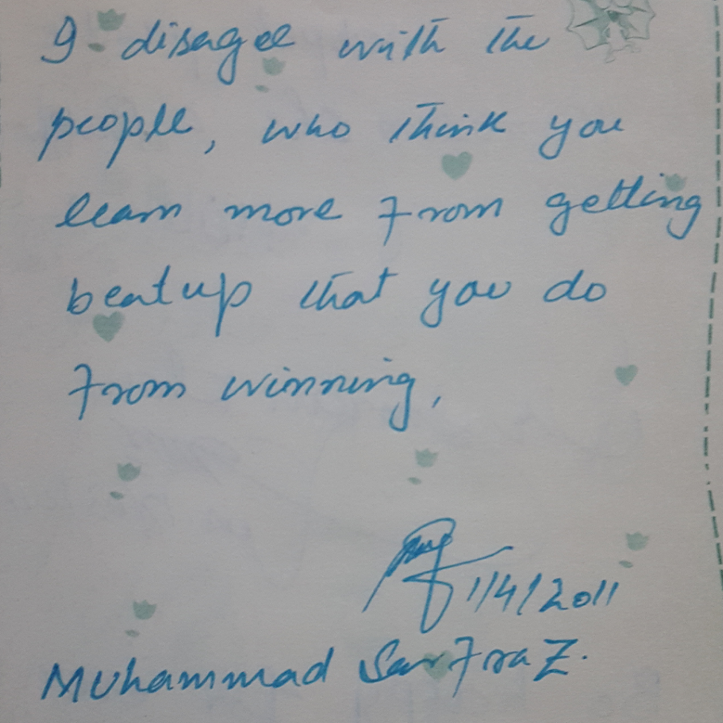 Autograh Book ZubariaFakhar DailyLifePakistan 0007 Layer 12 1024x1024 - Words Of Wisdom & Well Wishes | Old Autograph Diary