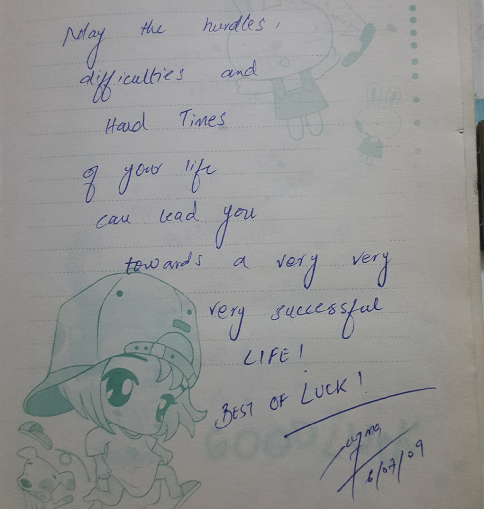 Autograh Book ZubariaFakhar DailyLifePakistan 0016 Layer 3 1 973x1024 - Words Of Wisdom & Well Wishes | Old Autograph Diary