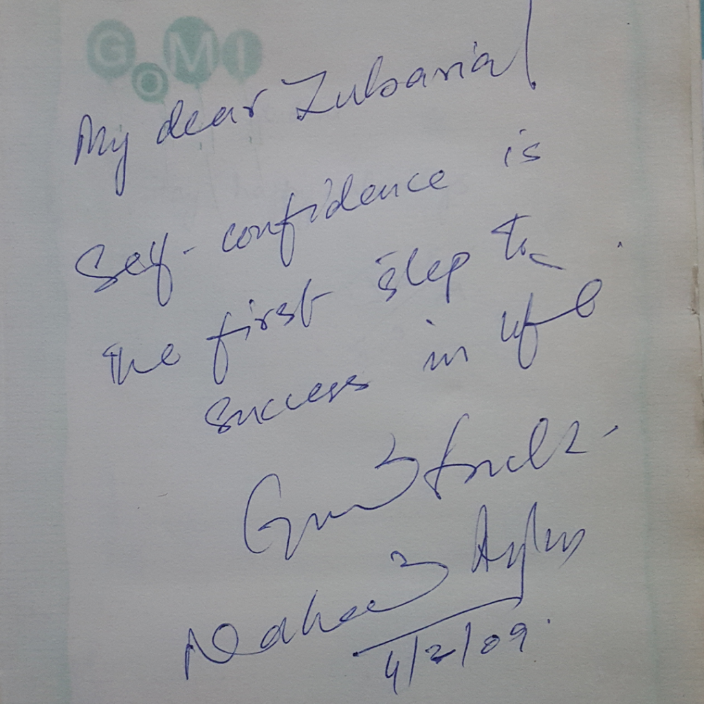 Autograh Book ZubariaFakhar DailyLifePakistan 0018 Layer 1 1 1024x1024 - Words Of Wisdom & Well Wishes | Old Autograph Diary
